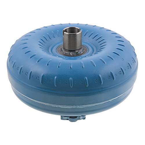 Recon Torque Converter, Lock-Up, 12'' Overall Diameter, 10.750'' Bolt Pattern, 3 Pad Mount w/ 10mm x 1.5 Thread, Slotted Hub, 1.702'' Pilot Diameter, 30 Splines, 1400-1600 Stall Speed