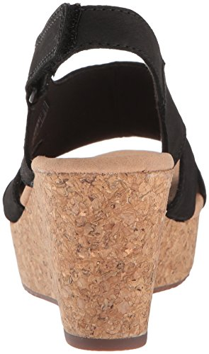 buy cheap cheapest price CLARKS Women's Annadel Bari Platform Black Nubuck low price fee shipping sale online cheap sale factory outlet GwVSA4k