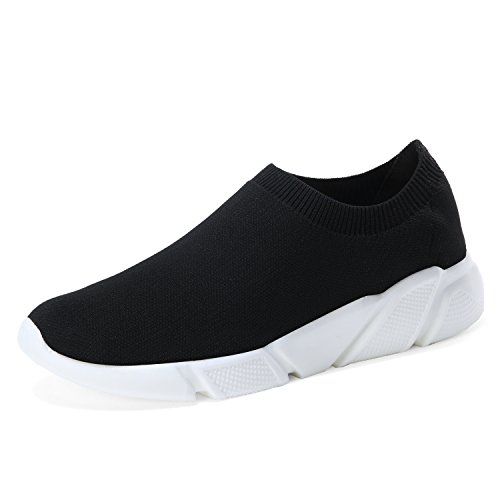 Women's Fashion Sneakers Shoes with High Cut (Black) - 2