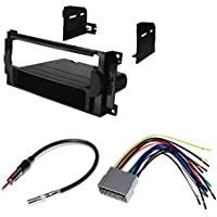 JEEP 2005 - 2007 GRAND CHEROKEE CAR STEREO DASH INSTALL MOUNTING KIT WIRE HARNESS RADIO ANTENNA PACKAGE