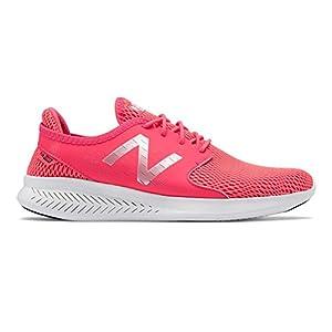 New Balance Women's Coast V3 Running-Shoes, Pink, 9 B US