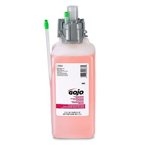 1,500 Ml Refill (GOJO 856102CT CX & CXI Luxury Foam Hand Wash, Cranberry Liquid, 1500mL Refill (Pack of 2),Compatible with Dispenser #8520-01, 8500-01,)