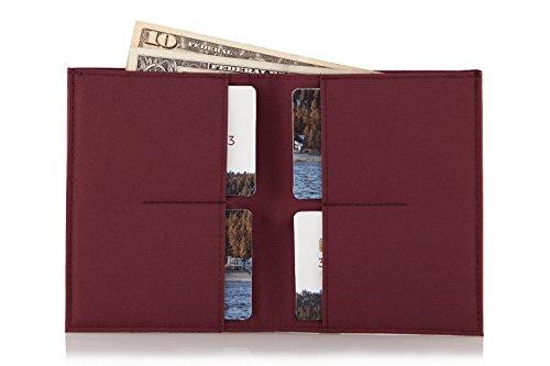 Nylon Wallet Nylon Caravan Oxblood Oxblood Caravan Wallet Oxblood Nylon Wallet Caravan UqAgPZ