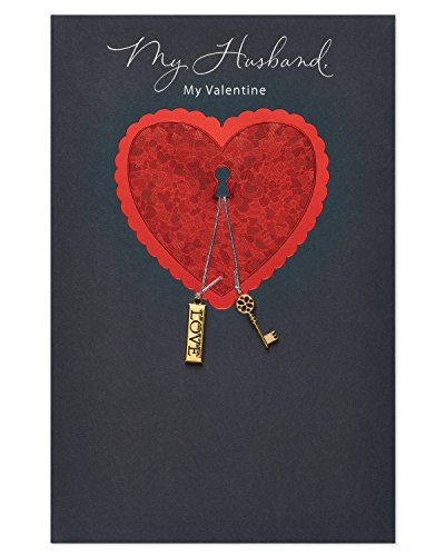 American Greetings My Valentine Valentine's Day Card for Husband with Foil