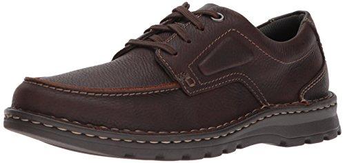 CLARKS Men's Vanek Apron Loafer, Brown Oily Leather, 7 Medium US