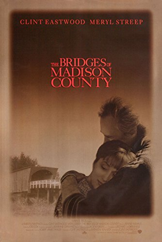 The Bridges of Madison County 1995 U.S. One Sheet Poster