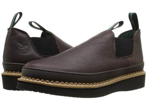 Georgia Boot(ジョージアブーツ) メンズ 男性用 シューズ 靴 ブーツ 安全靴 ワーカーブーツ Romeo Wedge Soggy Brown [並行輸入品] B07DNQ6VKG 8 EE Wide