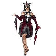 Smiffy's Women's Gothic Venetian Harlequin Female