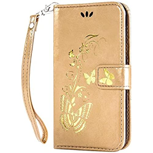 For S7 Case,S7 Leather Case,Samsung S7 Cases wallet,Nacycase flip case with card pockets cover for Samsung Galaxy S7 (golden) Sales