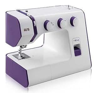 Alfa NEXT 40 - Máquina de coser con 25 puntadas, color morado