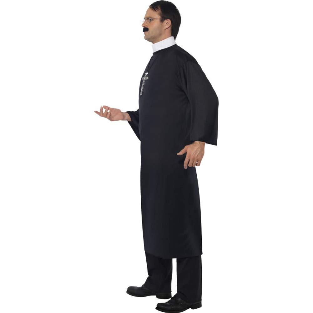 Priest Costume (disfraz): Amazon.es: Juguetes y juegos