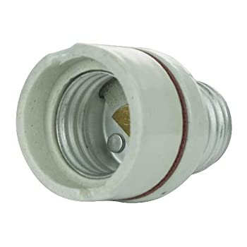 Sunlite 04049-SU E131/E26-E26/PorExt Light Bulb Adapter Medium Base to Medium Base