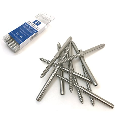 Panorama Lag Screw Hand-Crimp Swage Stud for 1/8