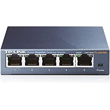 Amazon.com: DualComm Mini 5-Port 10/100 Ethernet LAN Switch (USB ...
