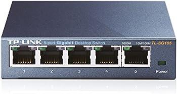 TP-LINK TL-SG105 10/100/1000Mbps 5-Port Gigabit Desktop Switch