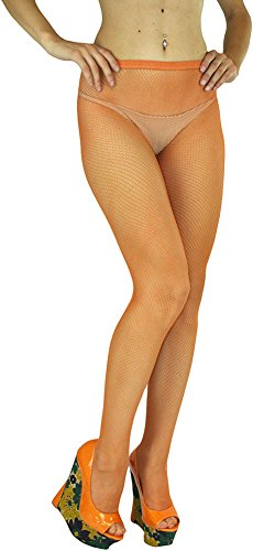ToBeInStyle Women's Sexy Seamless Fishnet Full Footed Panty