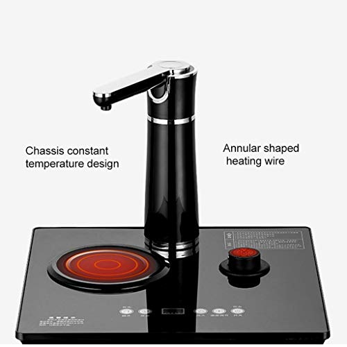 Hot Water Dispensers Household Vertical hot Water Dispenser Bedroom hot and Cold Smart hot Water Dispenser Energy-Saving New Eye-catching Water Dispenser (Color : Black, Size : 33cm32cm94cm) by Combination Water Boilers Warmers (Image #2)