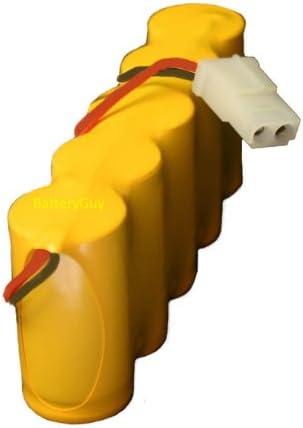 BatteryGuy BGN1800-5DWP-41REC 6V 1800mah Rechargeable Emergency Light Battery