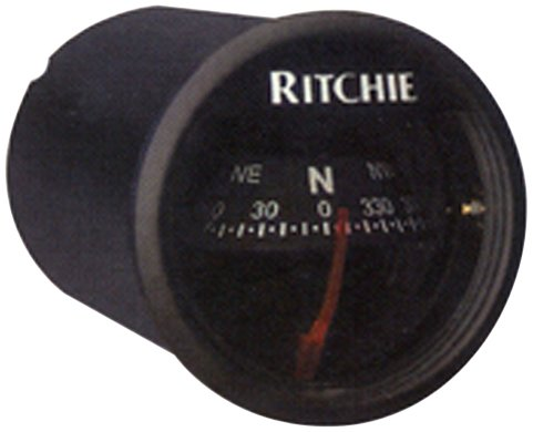 X-21BB Ritchie Navigation 2-Inch Dial Sport Compass with Dash Mount (Black) (Mount Dash Compass)