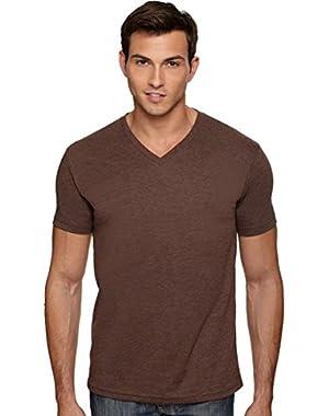 Next Level Men's CVC Combed V-Neck T-Shirt (Pack of 6)