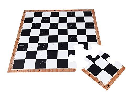 【メール便送料無料対応可】 jigchessボード 3 – チェスボードジグソーパズルin標準Tournamentサイズ – 3 x 3 3 – Perfect – to playまたはギフトとして B0775YVR4L, キタグン:932a6292 --- nicolasalvioli.com