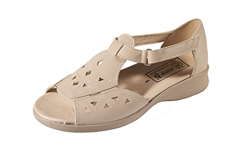 Db Shoes Kirsty Sandals For Women 4E Width Beige