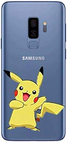 Générique Coque Samsung Galaxy S9 Pikachu Pokemon Pokeball Dessin ...