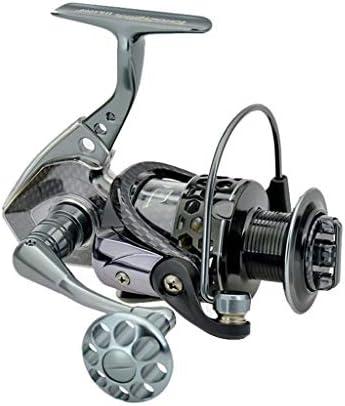 ZREELS 釣りスピニングリール、 フロントドラッグ メタルベアリング パワフル コンパクト ポータブル フィッシュホイール、 周りの交換 (色 : 2000)