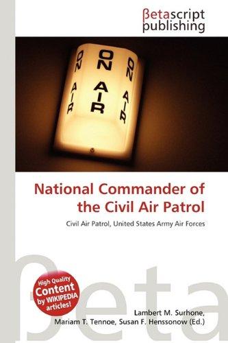National Commander of the Civil Air Patrol