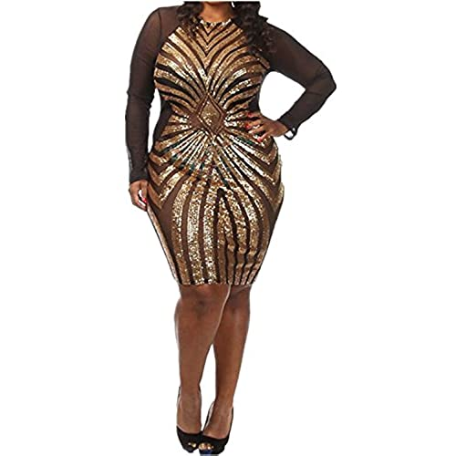 Black And Gold Plus Size Dress Amazon