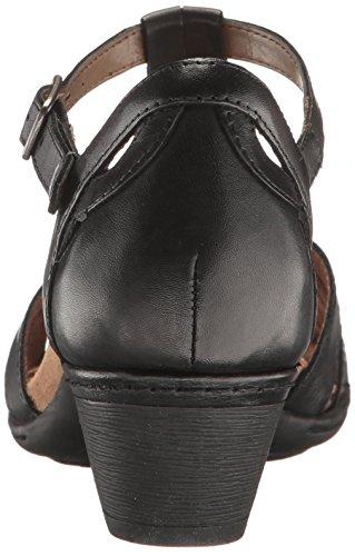 Shoes Rockport Women's T Curvy Black Abbott Leather Twp6xwCq