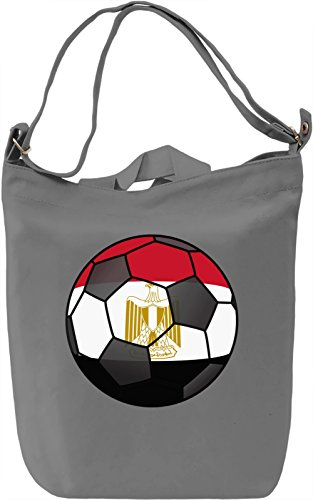 Egypt Football Borsa Giornaliera Canvas Canvas Day Bag| 100% Premium Cotton Canvas| DTG Printing|