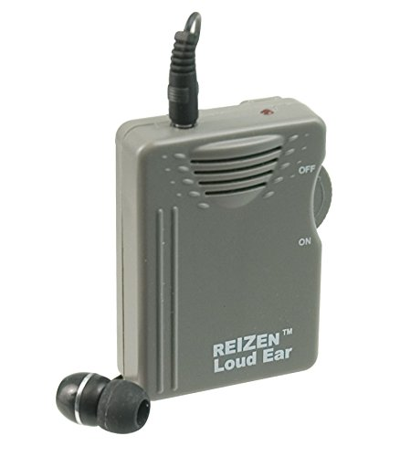 Reizen Loud Ear 110dB Gain Personal Amplifier (Clear Personal Sound Amplifier)