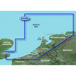 New-GARMIN BLUECHART G2 HXEU018R THE NETHERLANDS MICROSD & SD - 35624
