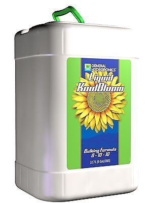 General Hydroponics Liquid Koolbloom, 6-Gallon by General Hydroponics