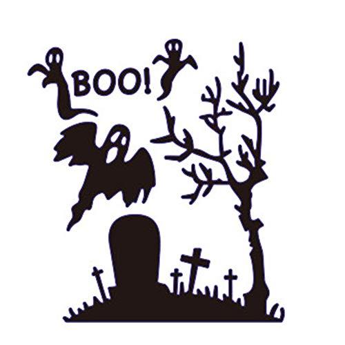 (Satelliter Cutting Die Halloween Pumpkin Spider Web Embossing Metal Mould Template Die Cuts for DIY Scrapbooking Photo Album Decorative Metal Stencils Paper Cards)