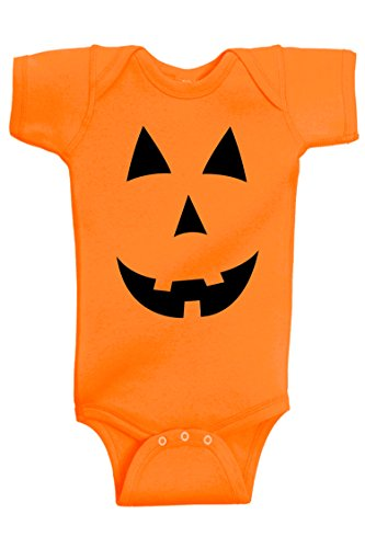 Quick Pumpkin Costume (Aiden's Corner - Halloween Baby Clothes - My First Halloween Costume (0-3 Months, Pumpkin_Orange))