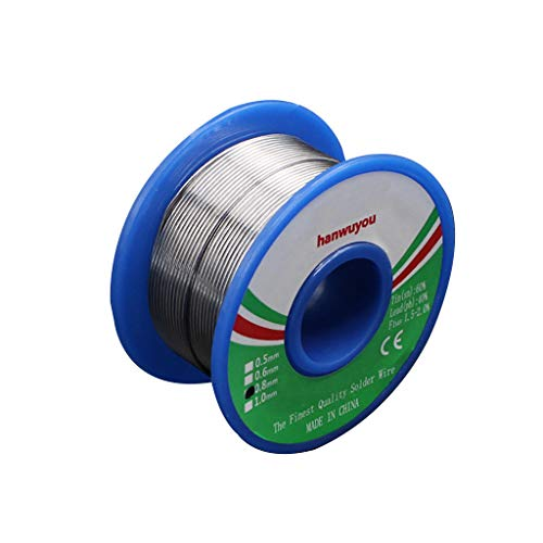 60-40 Tin Lead Rosin Core Solder Wire for Electrical Solderding 0.8mm 55g