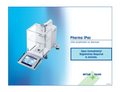 Mettler Toledo PHARMAPAC Pharma Service Package with 12 Month Extended Warranty