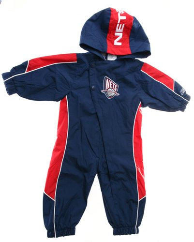 Nets Baby-boys Infant Hooded Windsuit Size 12 Mos By Reebok ()