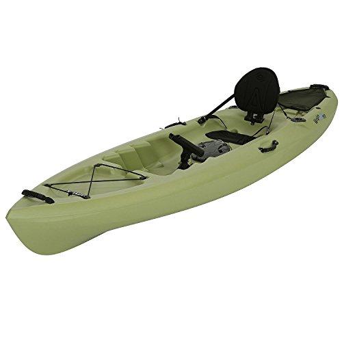 Lifetime Weber Sit-On Top Fishing Kayak, Light Olive, 11'