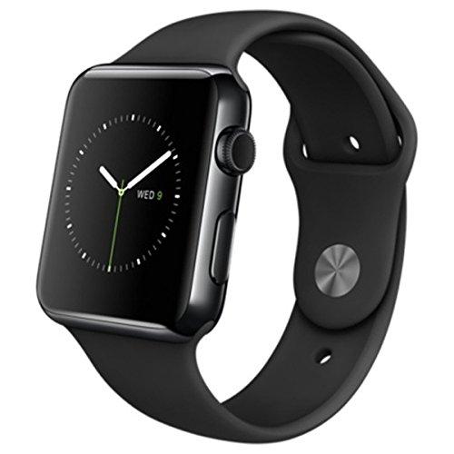 Apple Watch 42mm MLC82J/A [ブラックスポーツバンド]の商品画像