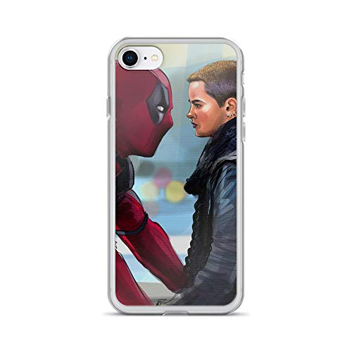iPhone 7/8 Anti-Scratch Shockproof Case Negasonic Teenage Warhead and Dead-Pool Comic Superhero Stan-Lee