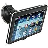 Car GPS Navigation 8G SD Card 256 With Newest Map Build-In Touch Screen Multimedia Player Lifetime Free Map Update