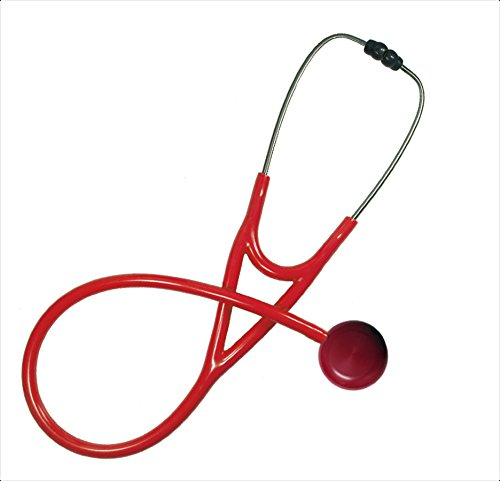 Single Adult Stethoscope – MaxiScope Red Red