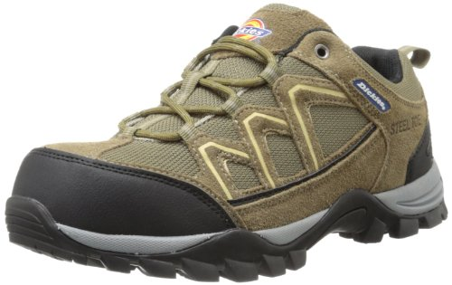Dickies Men's Solo Hiker Work Shoe-M, Brown, 10 M US