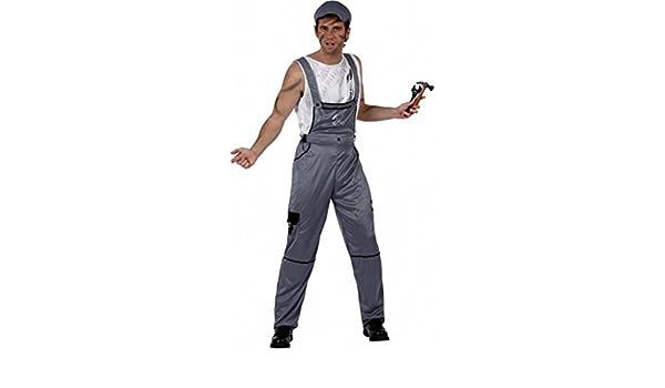 Desconocido Disfraz de mecánico para adulto: Amazon.es: Juguetes y ...
