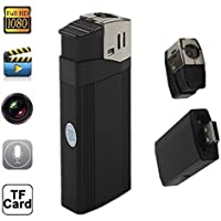 Mengshen® Full HD 1920×1080P Lighter Spy Hidden Pinhole Camera Recorder DVR MINI DV Flashlight Camcorder MS-HC12