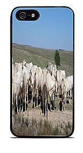 Cattle Black Hardshell Case for iPhone 5 / 5S