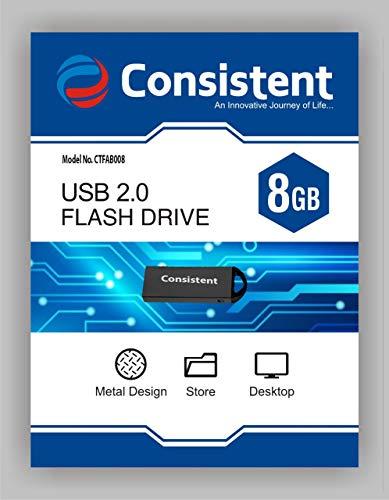 Consistent Pen Drive 8 GBCTFAB008